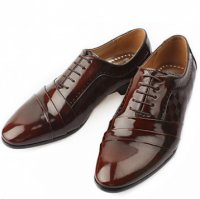 [MOODA] 2016 New Korean Trendy Fashion Business Men Shoes/JORDAN(String) Wine