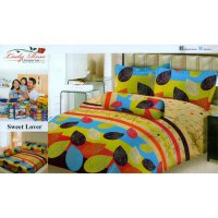 Sprei Lady Rose Uk.180 X 200 Motif Sweet Lover