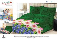 Sprei Lady Rose Uk.180 X 200 Motif Malta