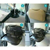 Car Organizer Table Rak Meja Lipat Mobil Portable