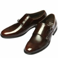 [MOODA] 2016 New Korean Trendy Fashion Business Men Shoes/MONK Brown