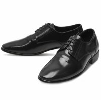 [MOODA] 2016 New Korean Trendy Fashion Business Men Shoes/FOREVERString Black