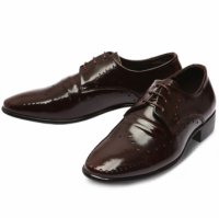 [MOODA] 2016 New Korean Trendy Fashion Business Men Shoes/LANDString Wine