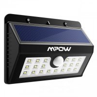 MPOW MSL7 - 20 LED Outdoor Solar Wall Light Motion Sensor Waterproof