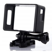 Plastic Side Frame for SJCAM SJ4000 EKEN H9 H9R Pro Action Camera - Black