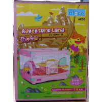 [Gold Product] Kandang Hamster / Adventure Land For Hamster Single Deck AE36