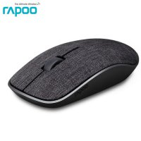 Rapoo Mouse Gaming Wireless Fabric Material - 3500 Pro - Black