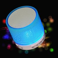 Dazzle Mini Bass Speaker Bluetooth TF Card - Blue