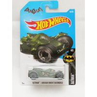 Hotwheels Batman Arkham Knight Batmobile 2017 - Hijau tua