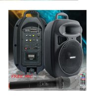 KingMax PA-2000 Speaker Stereo Mini Boogie Box Portable (Free Mic) -