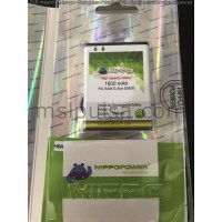 Baterai Hippo Samsung Galaxy Ace / Ace Duos / Gio / Young New S6310 / Fit 1600mAh