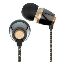 Headset Vivan VEM30 Metal Ceramic Texture Wired Black Golden