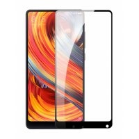 HMC Xiaomi Mi Mix 2 - 5.99 inch Tempered Glass - 2.5D Full Screen - Lis Hitam