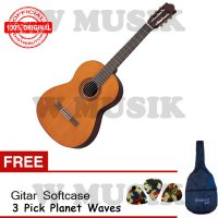 (High Quality) Yamaha Guitar C40 + Gratis Softcase & 3 Pick Planet Waves