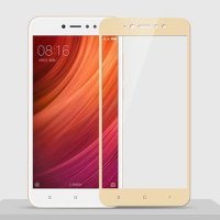 HMC Xiaomi Redmi Note 5A Prime Tempered Glass - 2.5D Full Screen - Lis Emas