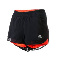 Adidas Celana Training / Running Wanita TWO-IN-ONE SHORTS Original AC2575
