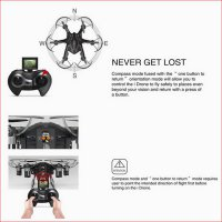 iDrone i6s Hexacopter Drone 6 Axis + Camera 2MP 720P + Return Function