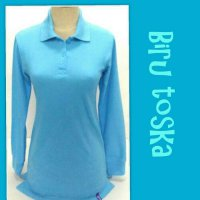 [POLO SHIRT] WANGKI POLOSAN WANITA | LENGAN PANJANG | FASHION POLO SHIRT