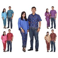 Batik Putri Ayu Solo Batik Sarimbit Dress / Batik Couple Dress srd201 Katun