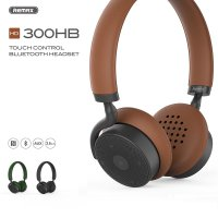 REMAX RB-300HB Touch Control Bluetooth Headphone Headset
