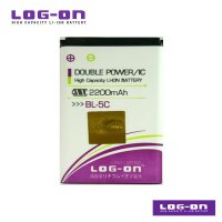 LOG-ON Battery For Nokia 5C - DoublePower & IC - Garansi 3 Bulan