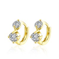 Tiaria Earrings AKE130 Aksesoris Anting Lapis Emas Yellow