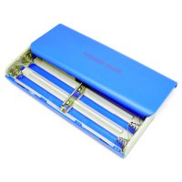 Case Power Bank untuk 5Pcs 18650 - Blue