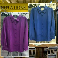 [KEMEJA] KEMEJA BIG SIZE BY NOTATIONS