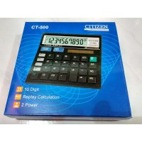 Kalkulator Dekstop Citizen CT-500 10 Digit Calcultor