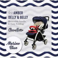 (Ready) stroller cocolatte q6 amber delly belly
