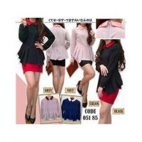 [BLOUSE] BLOUSE FORMAL TWISCONE H05185