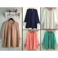 [BLOUSE] AMETHYS TUNIK FIT XXL LD 120 PJG 85 . GD