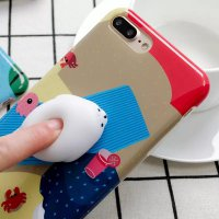 Case Squishy Polar Bear for iPhone 6 Plus / 6S Plus