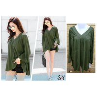 [BLOUSE] ATASAN LADIES SPANDEK RAYON MERK SY CREPE BIGSIZE FIT TO 5XL
