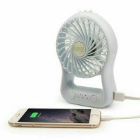 VIVAN ROBOT RT BF03 POWERBANK 2200Mah Portable Fan Kipas