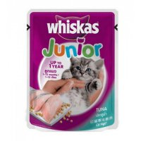 WHISKAS WET FOOD JUNIOR TUNA 85g