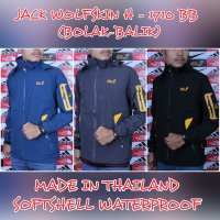 JAKET GUNUNG OUTDOOR JACK WOLFSKIN H 1710 SOFT SHELL WATER PROOF