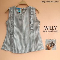 [BLOUSE] MAMIGAYA NURSING WEAR - WILLY | BAJU MENYUSUI |ATASAN MENYUSUI