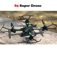 Super Drone Warrior S5 Black RC Drone Quadcopter