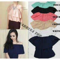 [BLOUSE] BAJU SABRINA MURAH HIGH QUALITY