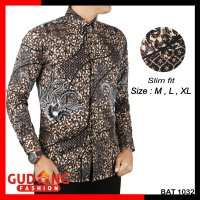 Kemeja Batik Modern Slim Fit BAT 1032