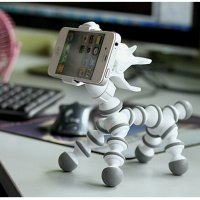 Flexible Tripod Horse Style for Smartphone - White