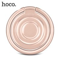 Hoco Water Wave Metal iRing Smartphone Holder - PH10 - Golden