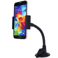 Lazy Tripod Car Mount Holder for Smartphone - WF-427 - Black
