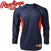 DS / Rawlings pullover UDFP2 [Oregon] baseball warm-up / Baseball T-shirt / Baseball Sweat