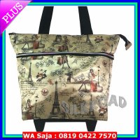 Foldable Shopping,Belanja,Roda,Trolley Bag/Tas TOTE Troli Lipat PariS