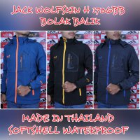 JAKET GUNUNG OUTDOOR JACK WOLFSKIN H 1706 SOFT SHELL WATER PROOF