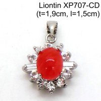 Xuping Liontin Perhiasan Lapis Emas Putih XP707-CD