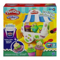 Play Doh Sweet Shoppe Ice Cream Sundae Cart A2106