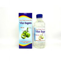 Vico Bagoes Virgin Coconut Oil VCO Minyak Kelapa 350 ml new packaging